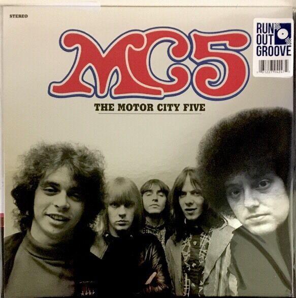 MC5 - Motor City Five LP [Vinyl New] 180gm Limited #'d Blue Splatter Vinyl