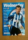 2003/04 SHEFFIELD WEDNESDAY v BOURNEMOUTH  - EXCELLENT CONDITION