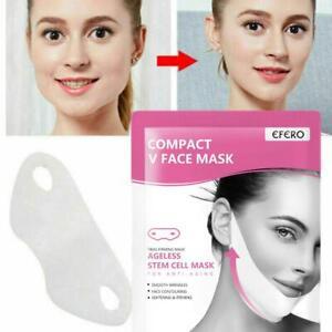 V-Shape-Lifting-Gesichtsmaske-Gesicht-Schlankes-Kinn-Check-Neck-Lift-Abziehmaske