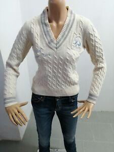 Maglione-LA-MARTINA-Donna-Sweater-Woman-Pull-Femme-Taglia-Size-XS-Lana-8321