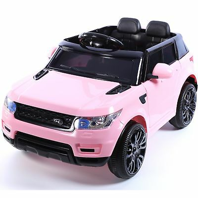 12V Mini HSE Style Children's Single Seat Ride On Jeep - Pink