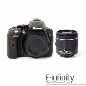 Details about NEW Nikon D5300 Digital SLR Camera + AF-P DX 18-55mm  f/3 5-5 6G VR Lens Kit