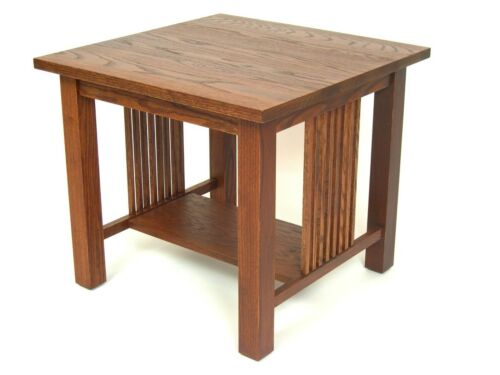 Mission Arts /& Crafts Stickley style Square End Table