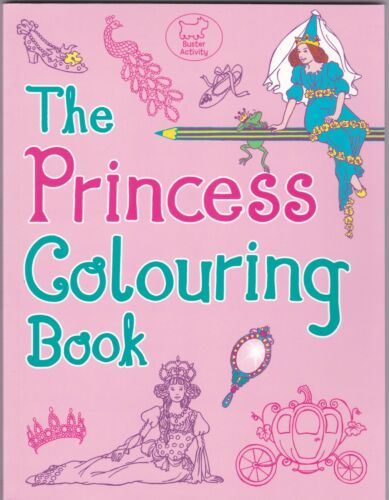 1 of 1 - Princess Colouring Book by Ann Kronheimer - Art Therapy