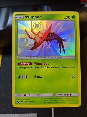 Pokemon SHINY WIMPOD SV4//SV94 Hidden Fates RARE HOLO MINT