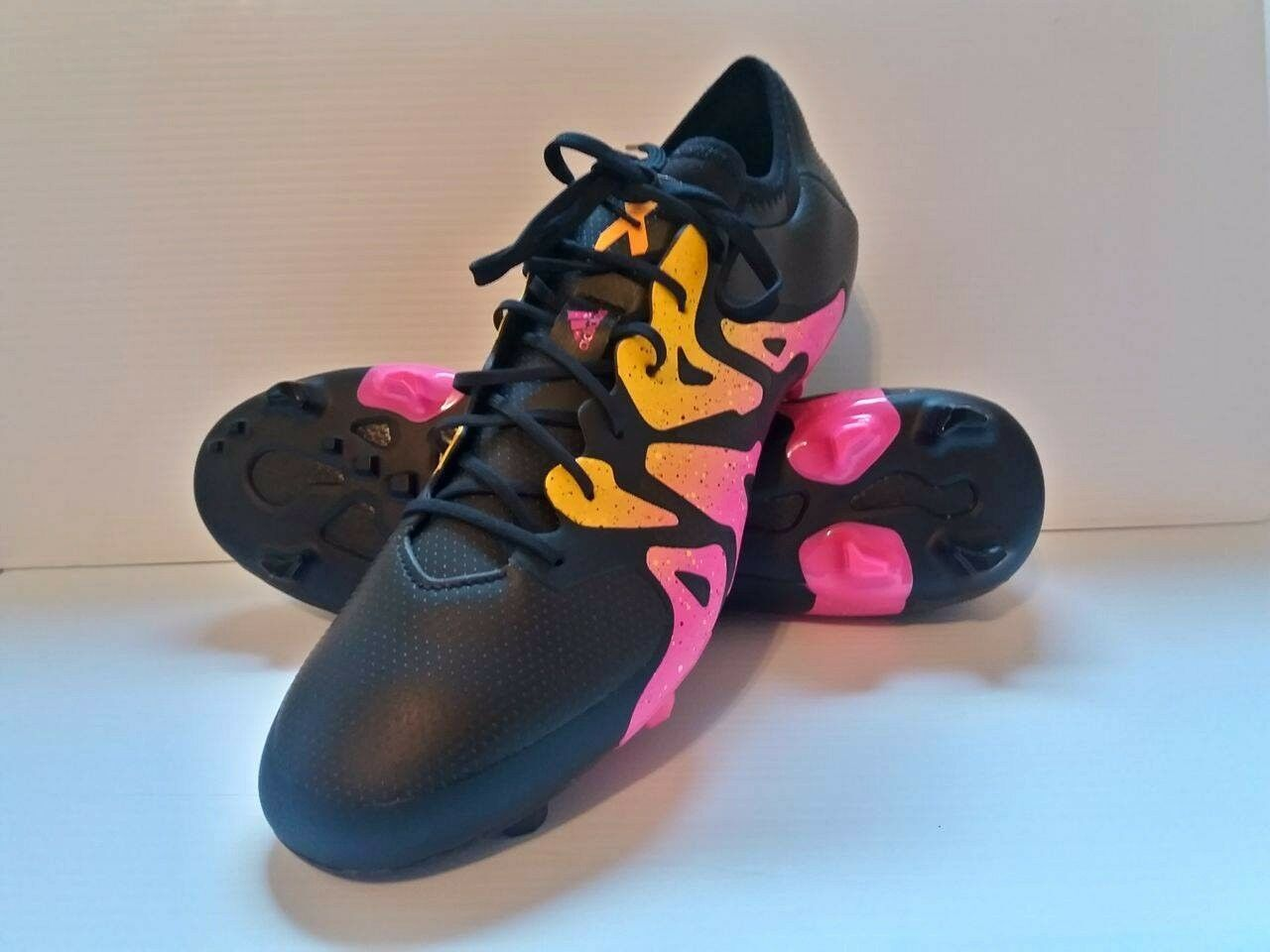 Adidas X 15.1 FG AG Syn botas de fútbol Botines de fútbol Talla 13