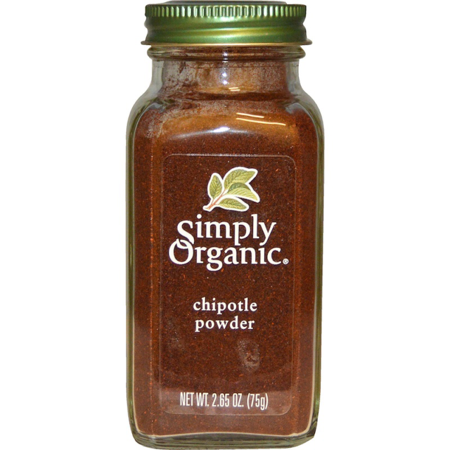 SIMPLY ORGANIC CHIPOTLE POWDER PURE FRESH DAILY COOKING FOOD SPICE SEASONING