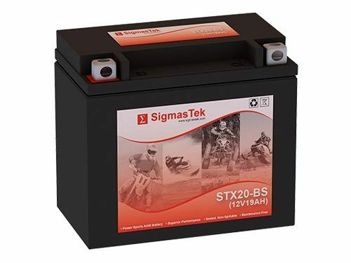 Maintenance Free Replacement Battery for Buell 1200CC RR1200 1988-1990