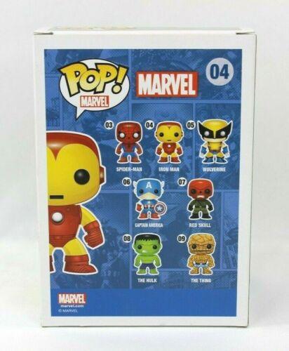 Funko Pop Marvel Iron Man #04 Vinyl Figure with Protector
