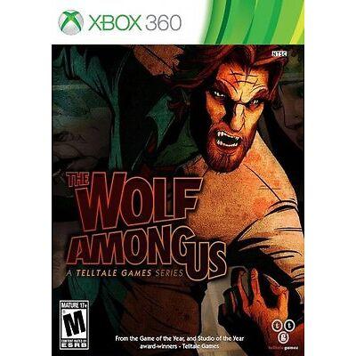 The Wolf Among Us (Microsoft Xbox 360, 2014) New & Sealed NIB