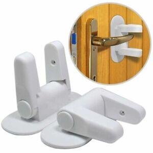 2Pcs-Baby-Safety-Door-Locks-Kids-Child-Safety-Proof-Door-Locks-Handle-Lever