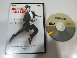 Bodas-reales-Fred-Astaire-Jane-Powell-DVD-Espanol-English-Region-All-AM