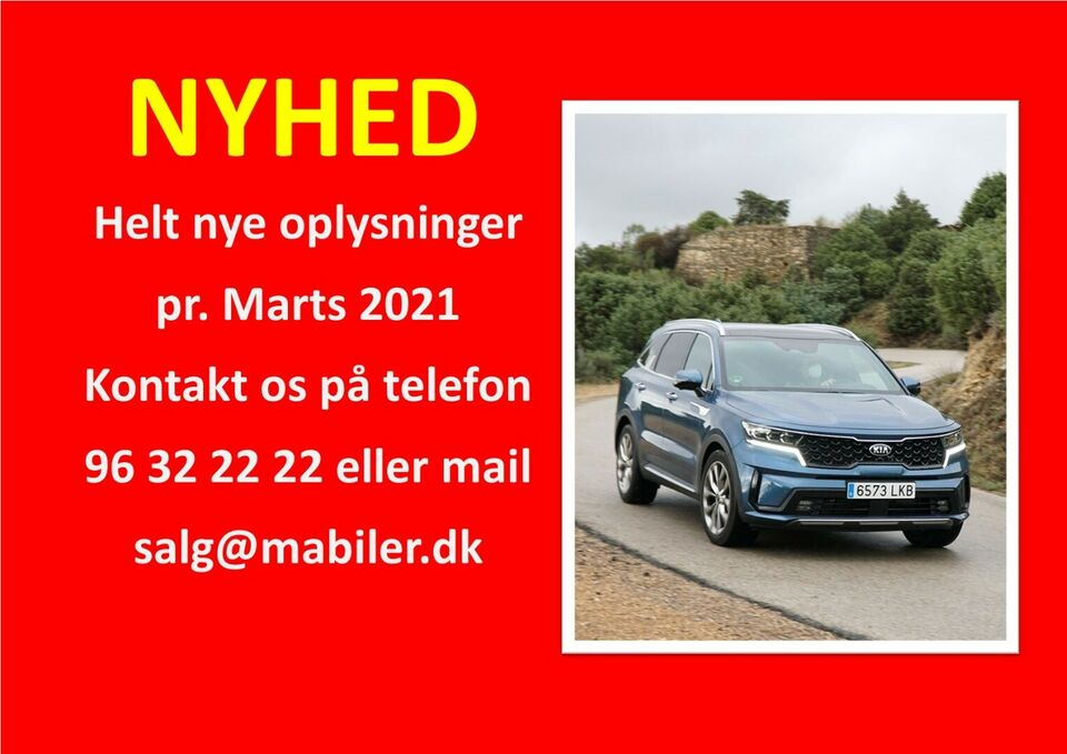 Kia Sorento 1,6 PHEV Upgrade aut. 4WD Benzin 4x4 4x4 aut.
