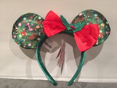 Holiday Disneyland Paris Mickey Ears Headband