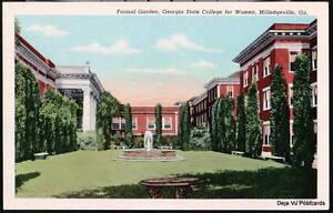 MILLEDGEVILLE-GA-State-College-for-Women-Formal-Garden