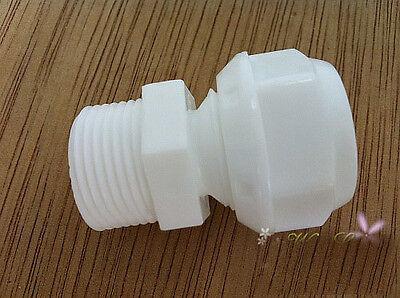 """3PCS 3//4/"""" Male BSPP 12mm-16mm Straight Pex-Al-Pex  fitting  Plastic Connrctor"""