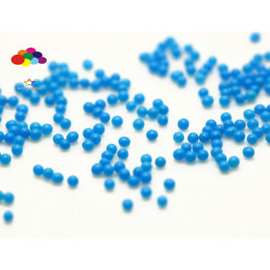 1000 pcs 12g Glass Mint blue Micro Beads small No Hole 1.5-2mm Nail Art Caviar