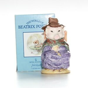 Beswick-Beatrix-Potter-And-This-Pig-Had-None-Bp-10-Mint-Boxed