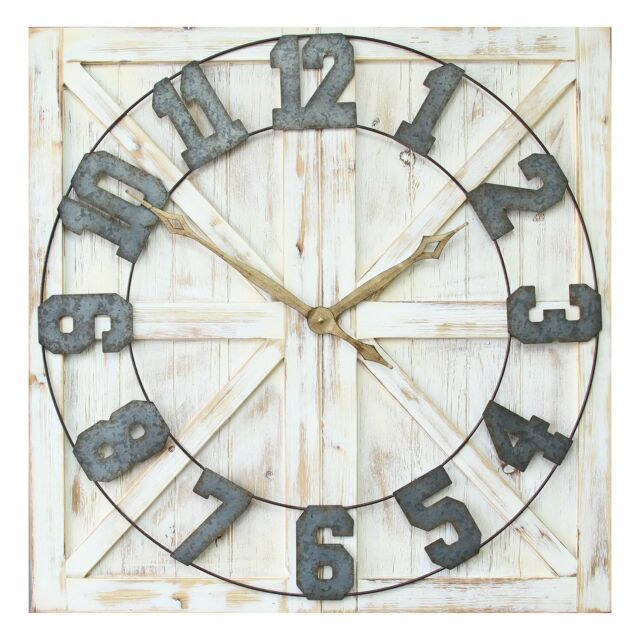 East Urban Home Designart Window Open To Solitary Tree Farmhouse Wall Clock For Sale Online Ebay