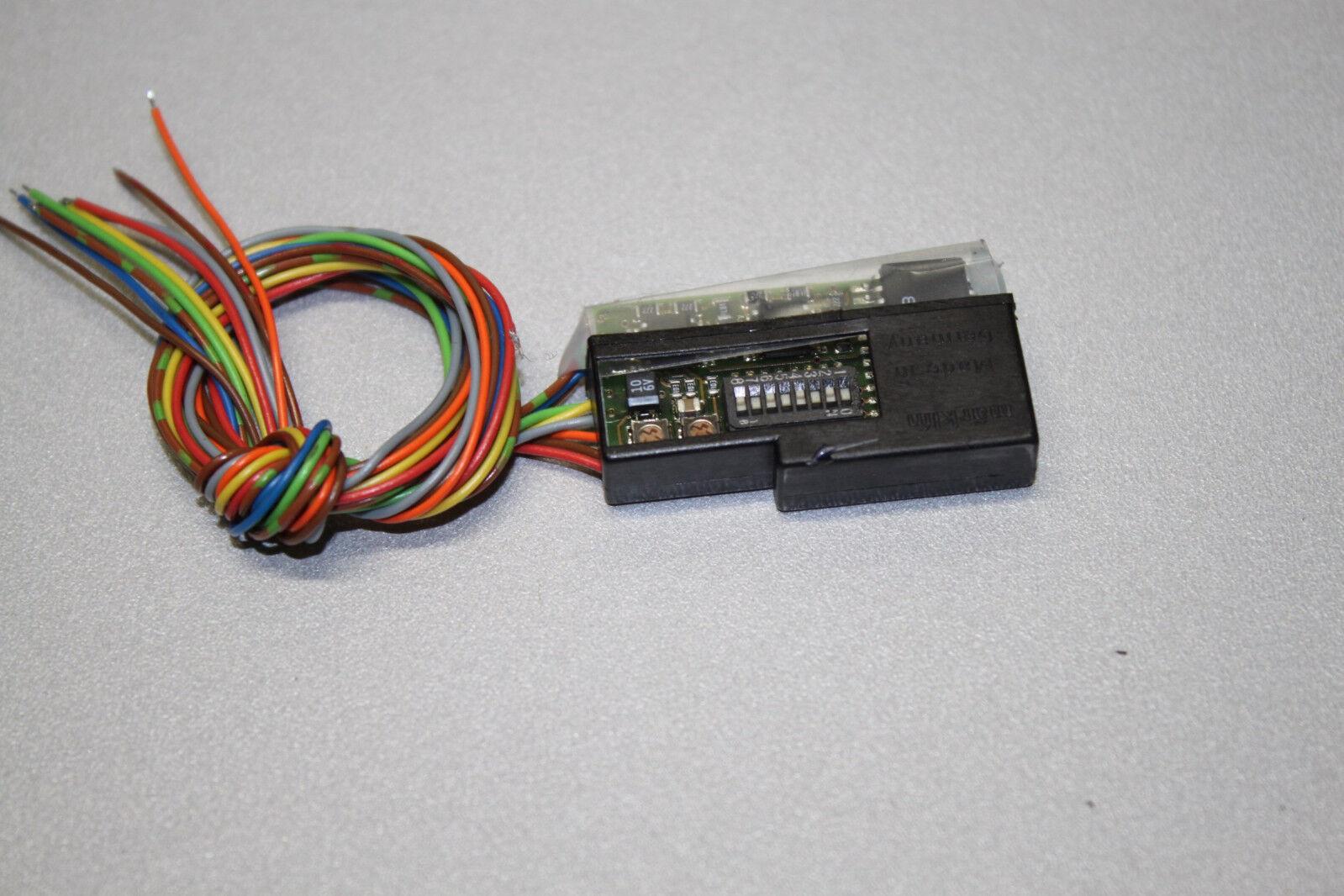Märklin 60905 Digital-Hochleistungselektronik mit 3 Schaltausgängen Spur H0 OVP