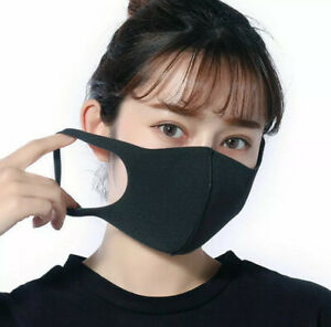 Washable Reusable Face Mask Mouth Masks Cover Respirator Pollution Protection Au Ebay