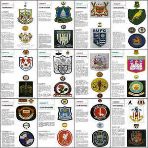 LEAGUE Football Review magazine Club Badge picture poster  VARIOUS - Darlington, United Kingdom - LEAGUE Football Review magazine Club Badge picture poster  VARIOUS - Darlington, United Kingdom