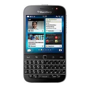 New Condition BlackBerry Classic Q20 Qwertz 16GB Black Unlocked Smartphone