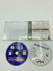 Sony-PlayStation-1-PS1-Disc-Manual-Only-RollCage-Limited-Edition-w-Bonus-Disc
