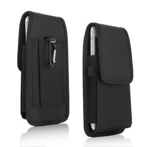 Belt-Clip-Vertical-Holster-Pouch-Carry-Case-For-i-Phone-Samsung-Large-Cell-Phone