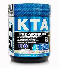 KTA Pre Workout Supplement Blue Raz Muscle Gym Endurance 30 Serving Powder Drink