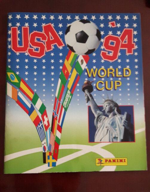 ALBUM FIGURINE PANINI MONDIALI USA '94