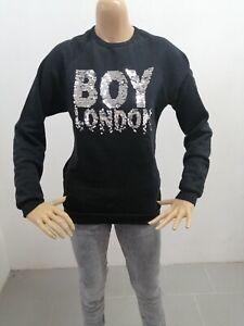 Maglione-BOY-LONDON-Donna-Taglia-Size-XS-Sweater-Woman-Pull-Femme-Maglia-P-7285