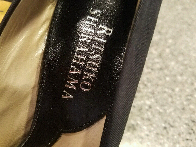 Ritsuko Ritsuko Ritsuko shirahama schuhe Größe 22.5 P/5.5 N pointy toe made in Japan 38f365