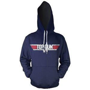 Official-Top-Gun-Movie-Logo-Hooded-Sweater-Hoodie-Navy-Blue-Adult-Distressed