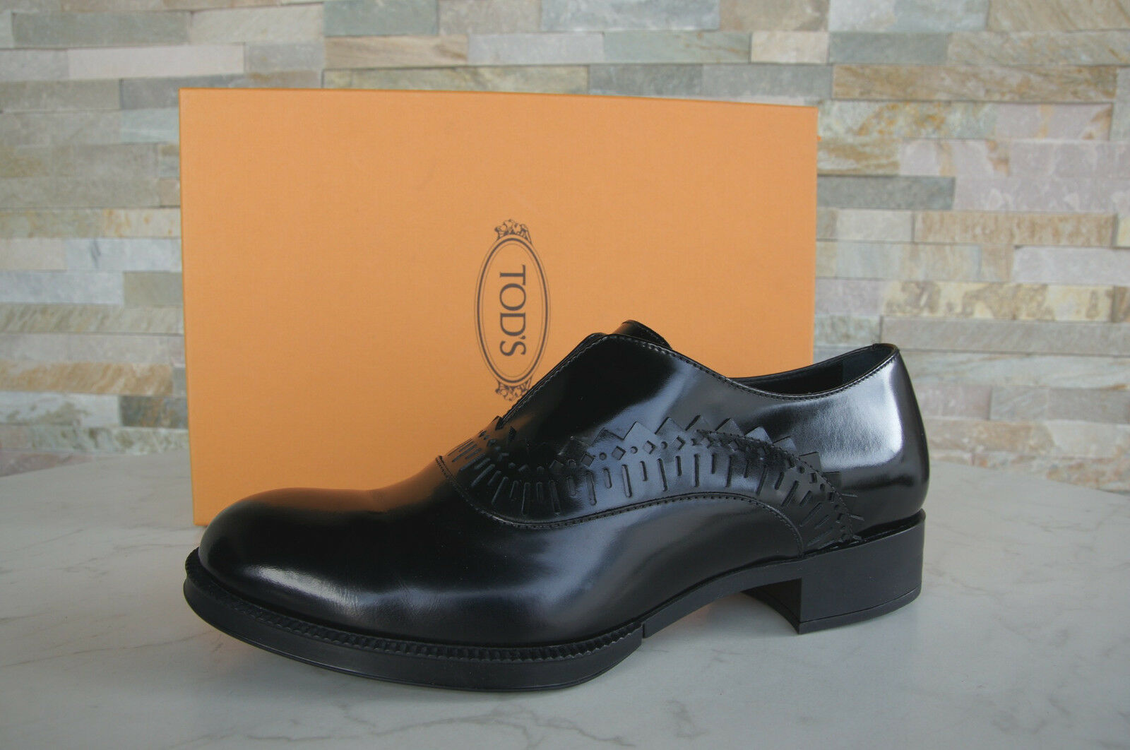 4191P mocassino loafer TOD'S marrone scarpa donna loafer mocassino woman d1c1b5