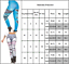 Womens Leggings Gym Sports Pants Fitness Stretch 3D Denim Workout Trousers