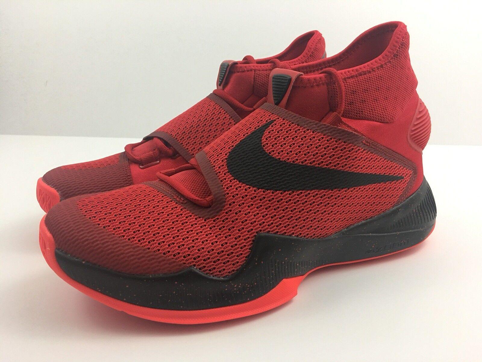 Nike Men's ZOOM HYPERREV 2018 University Red Bright Crimson Size 10.5