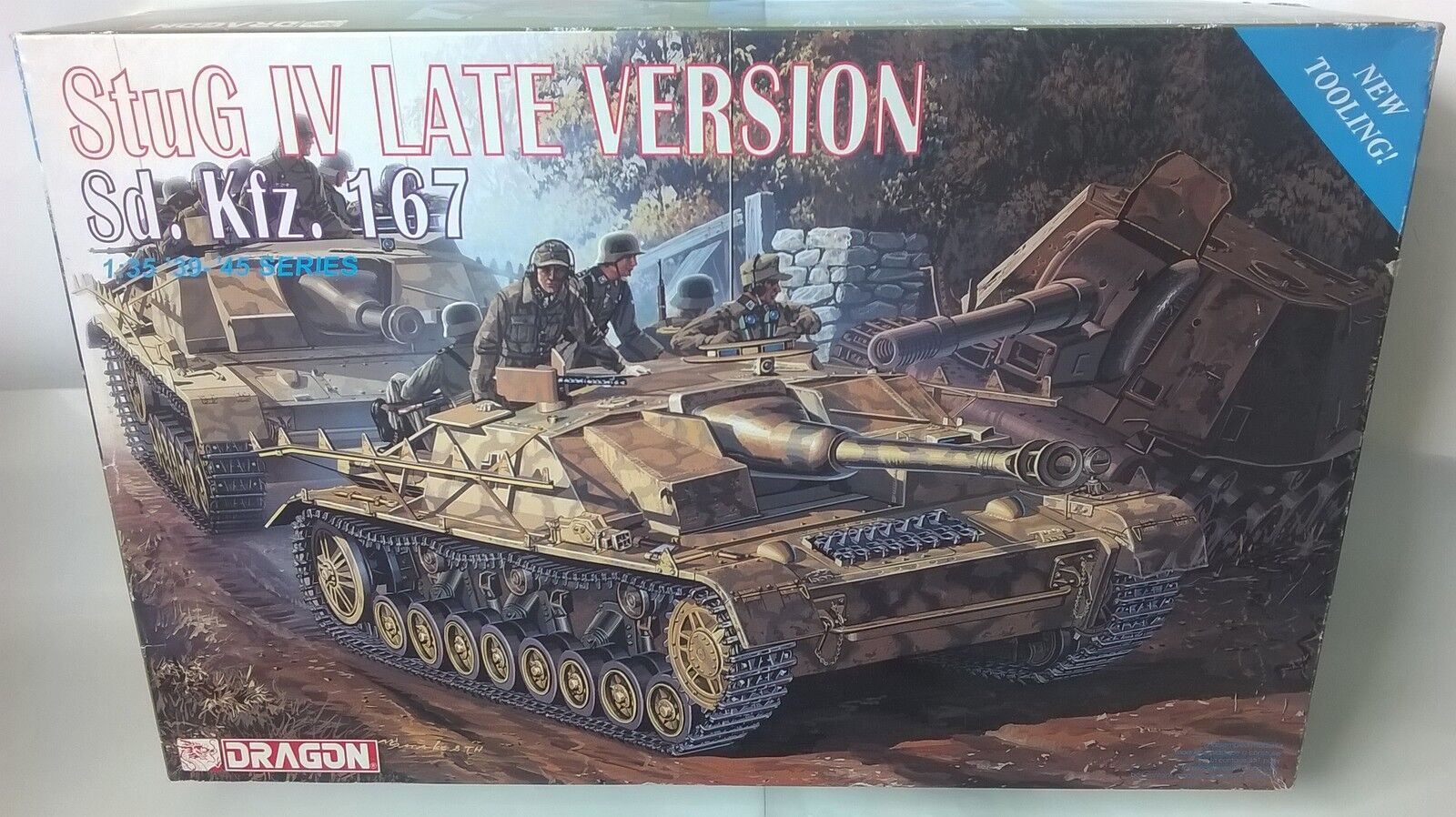 KIT DRAGON 1 35 autoRO ARMATO  STUG IV LATE VERSION Sd.kfz.167   ART  6043