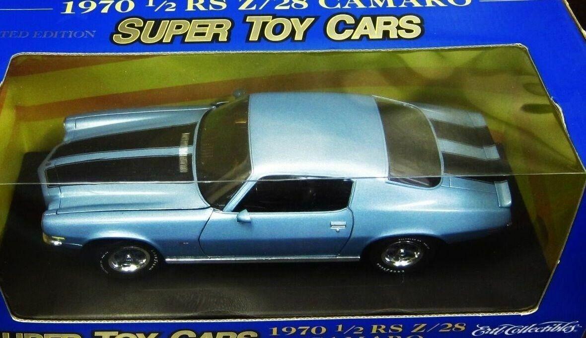 1970 1 2 Camaro RS Z 28, blu Super coches de juguete
