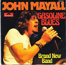 "7"" John Mayall – Gasoline Blues // Germany 1974"