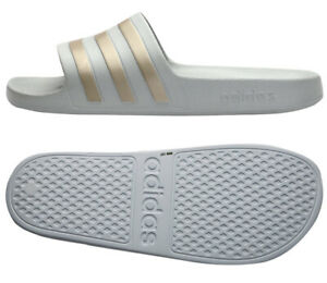 7ed0fa09d Image is loading Adidas-Adilette-Aqua-F35531-Slides-Sports-Sandals-Slippers-