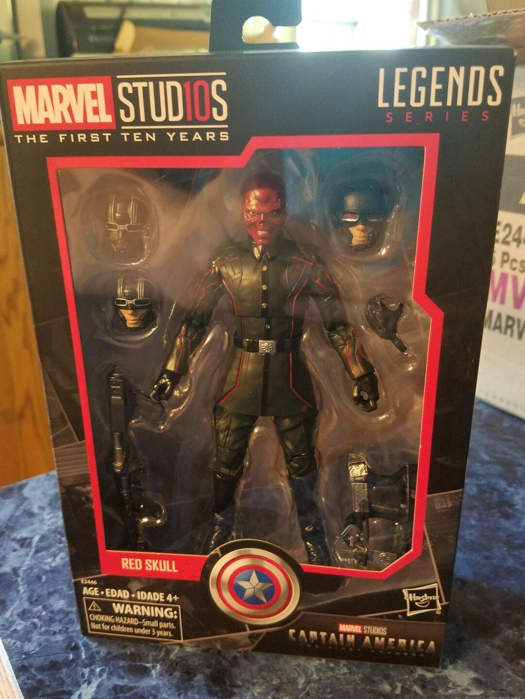 Marvel Studios  The First Ten Years Captain America  The First Avenger Red Skull