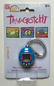 Bandai-Tamagotchi-Blue-20th-Anniversary-Series-3-Digital-Virtual-Pet-New-Sealed