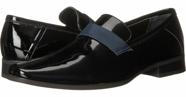 Bernard Patent Tuxedo Loafer Black
