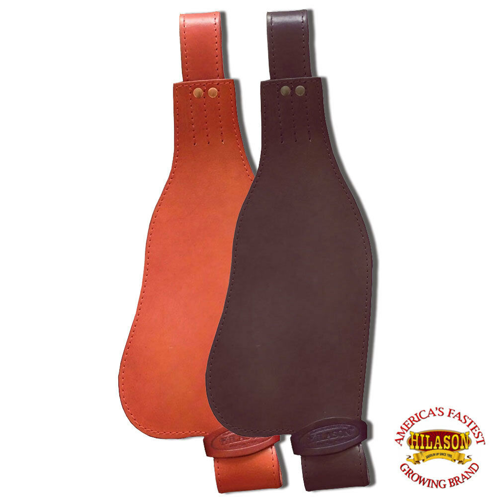 U720 HILASON LEATHER YOUTH SADDLE REPLACEMENT FENDER PAIR WITH HOBBLE STRAPS