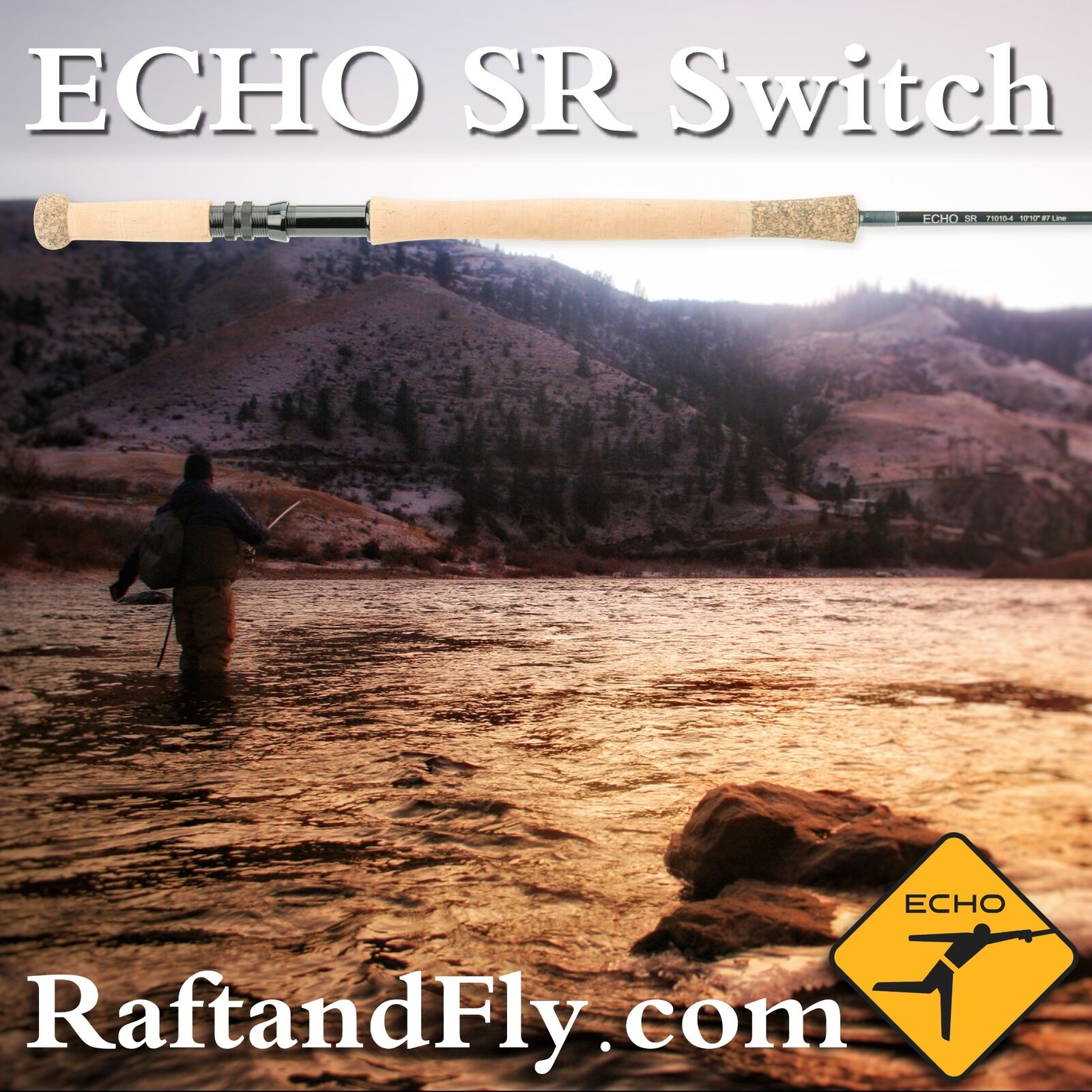 Echo SR 7wt Switch Rod