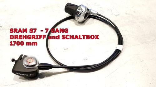 7 speed Sram s7 5 box control rotary handle u. 1700mm or p5