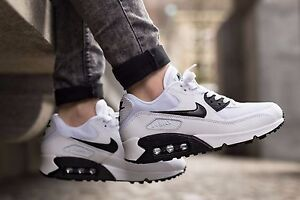 buy popular 4aa05 1bbdf Image is loading NIKE-Air-Max-90-Essential-Womens-Shoes-Size-
