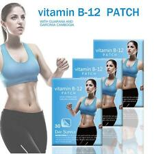 USPS 1pack VITAMIN B12 Patch GUARANA Body Slimming Fitness Patches
