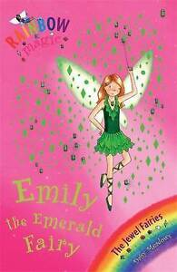 Emily-the-Emerald-Fairy-Rainbow-Magic-by-Daisy-Meadows-Good-Used-Book-Paperb